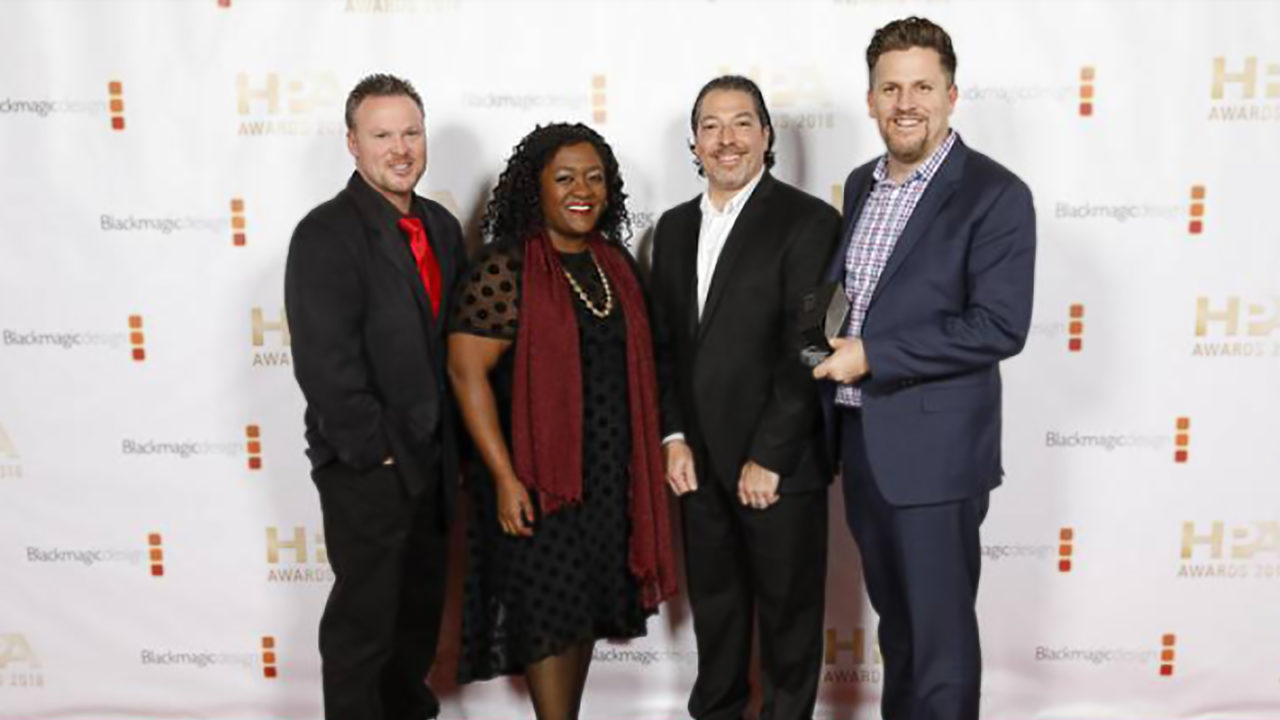 HPA Engineering Excellence Award For PixelStrings Cloud Platform