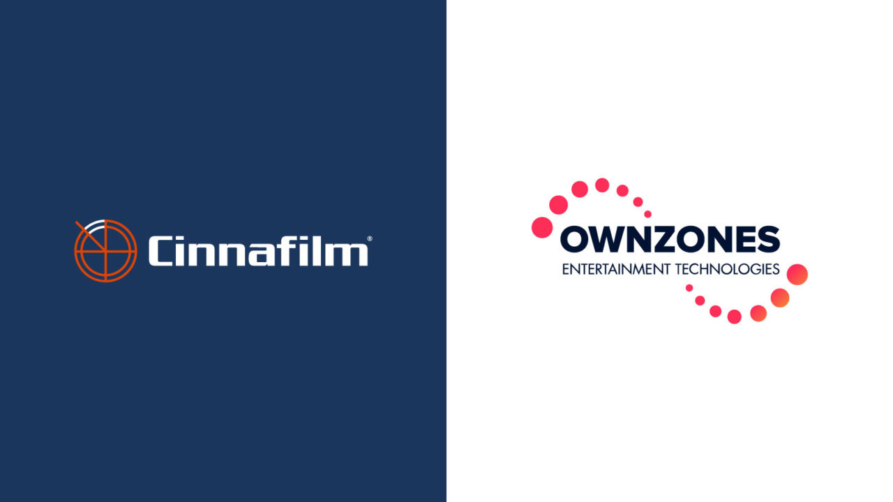 OWNZONES Entertainment Technologies Partners with Cinnafilm